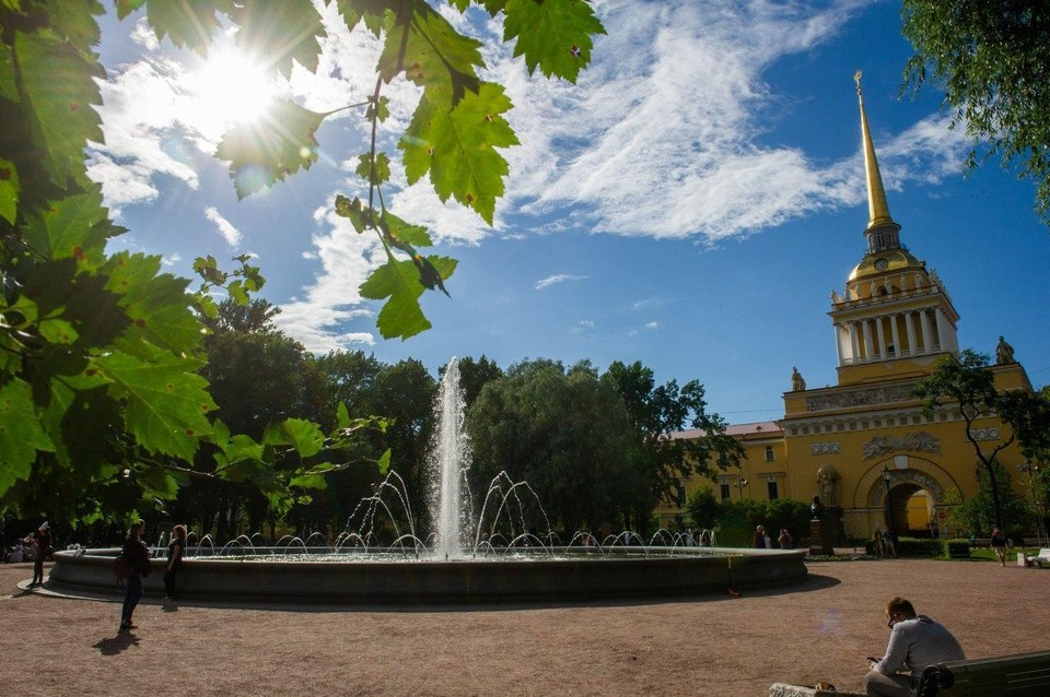 Осенняя жара установила температурный рекорд в Санкт-Петербурге