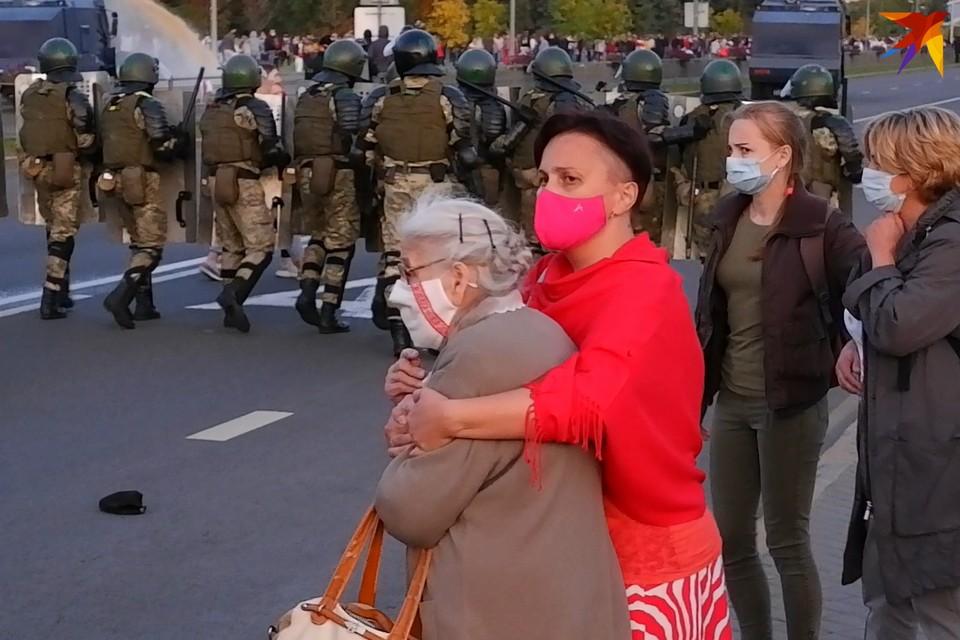 В Беларуси прошло 59 протестных акций, из 5 тыс. участников задержаны 364