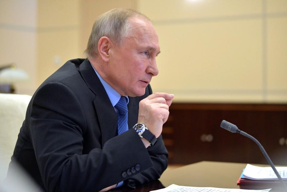 Путин напомнил, что борьба с коронавирусом еще не завершена
