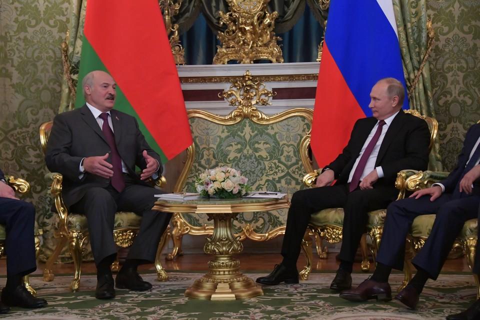 Путин и Лукашенко приглашены на VII Форум регионов России и Белоруссии