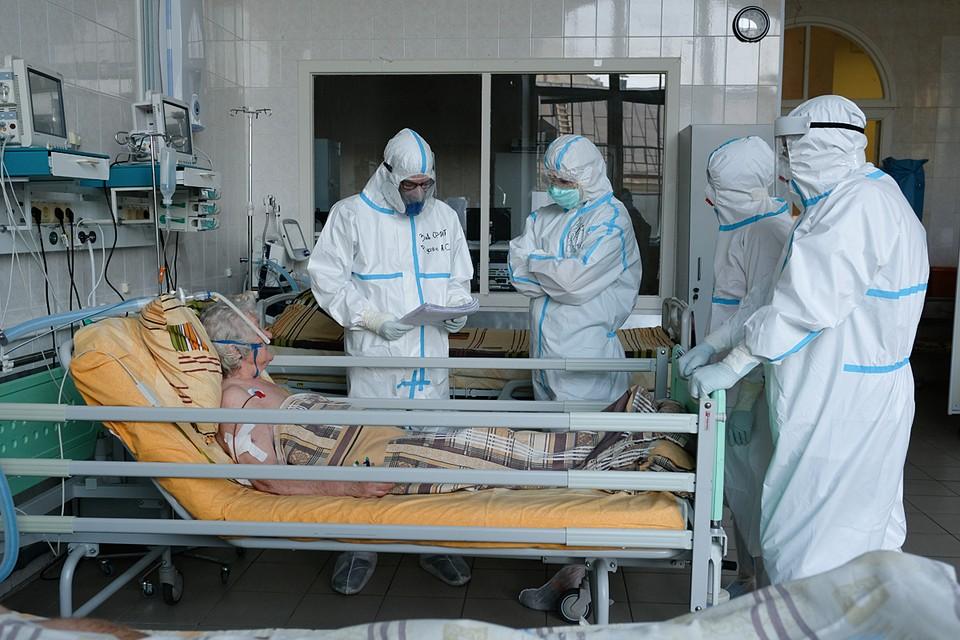 Столичные власти начали использовать резервные койки для больных с коронавирусом