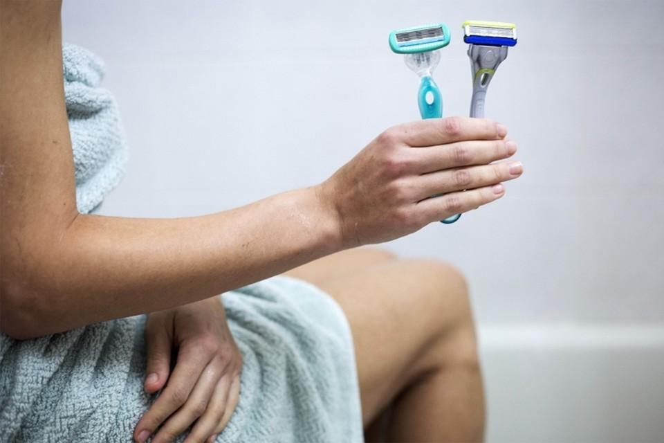 Раздражение после бритья в интимной зоне у женщин