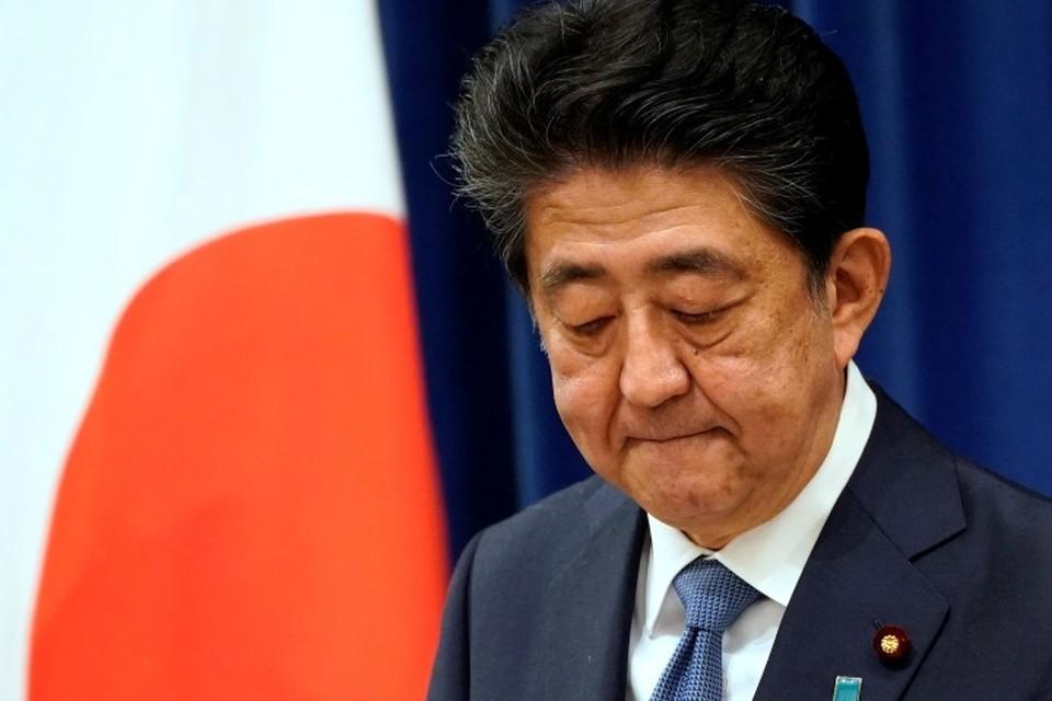Синдзо Абэ объявил, что уходит в отставку из-за проблем со здоровьем