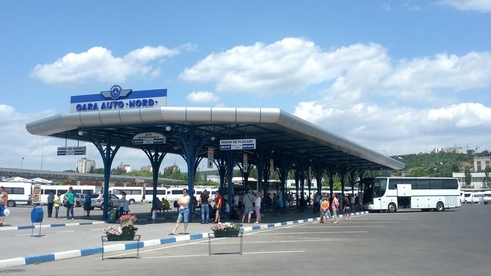 Северный автовокзал могут перенести за город. Фото: telegraph.md