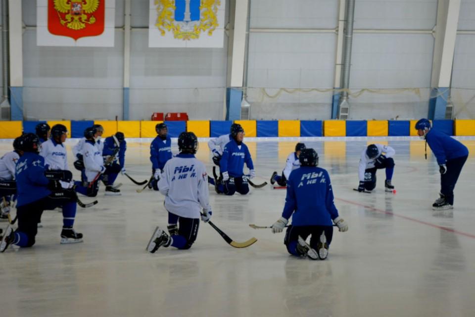 Сейчас спортсмены тренируются в Кирове на льду дворца спорта «Союз». Фото: vk.com/hcrodinakirov