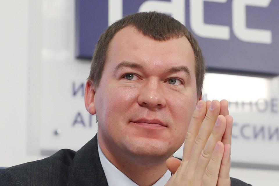 Михаил Дегтярёв. Фото: Сергей Карпухин/ТАСС