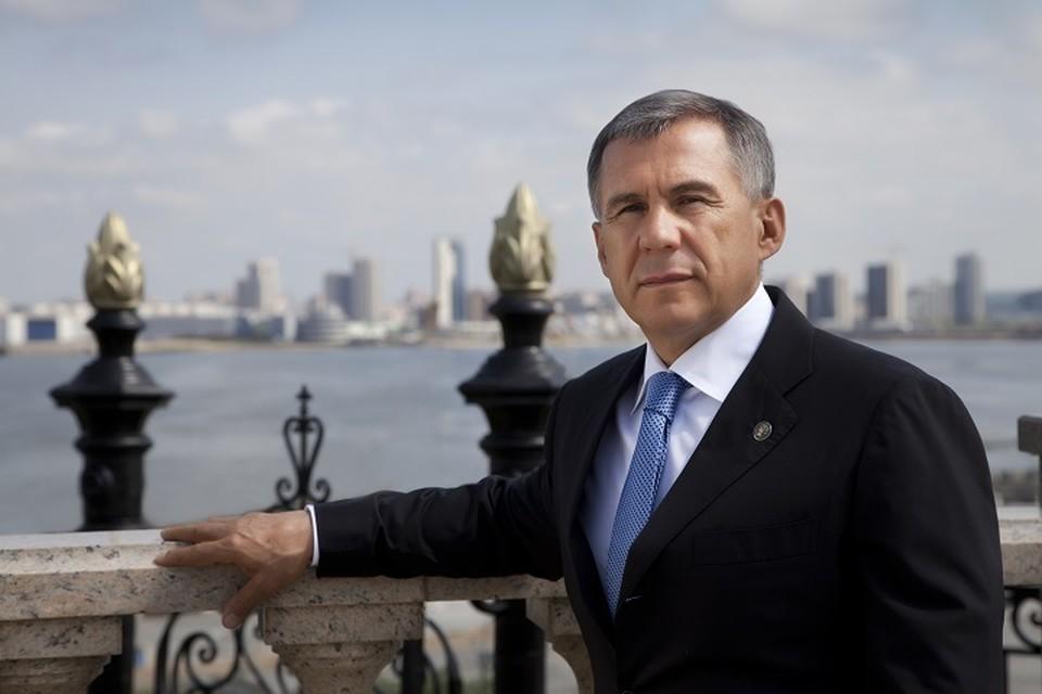 Рустам Минниханов побывал в Костанае на церемонии закладки нового завода