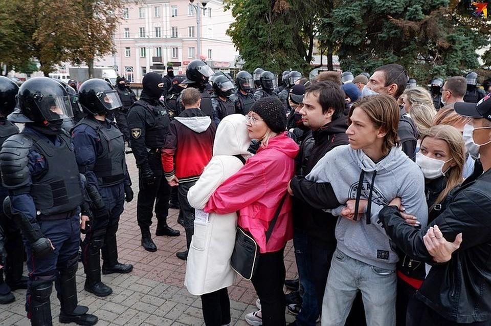 МВД:  27 сентября задержано не более 200 протестующих