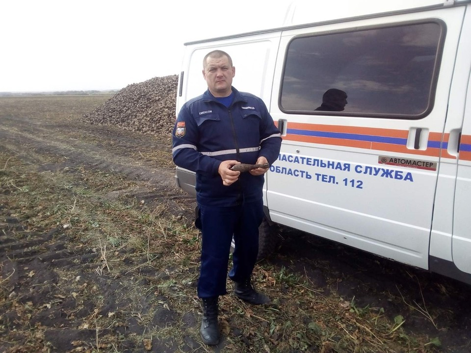 Саперы изъяли минометную мину калибром 50