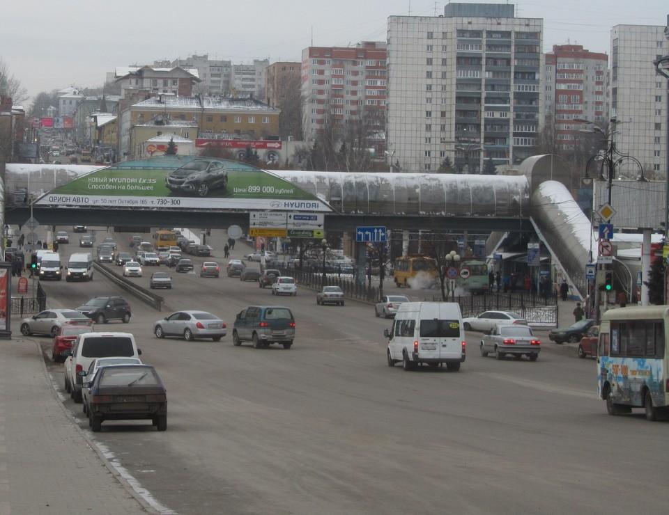 Улица Дзержинского - один из ключевых объектов