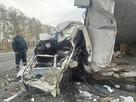 Под Тамбовом вылетевшая на «встречку» фура протаранила пять автомобилей