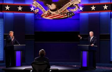 Первые дебаты Трампа и Байдена: по итогам лидирует демократ