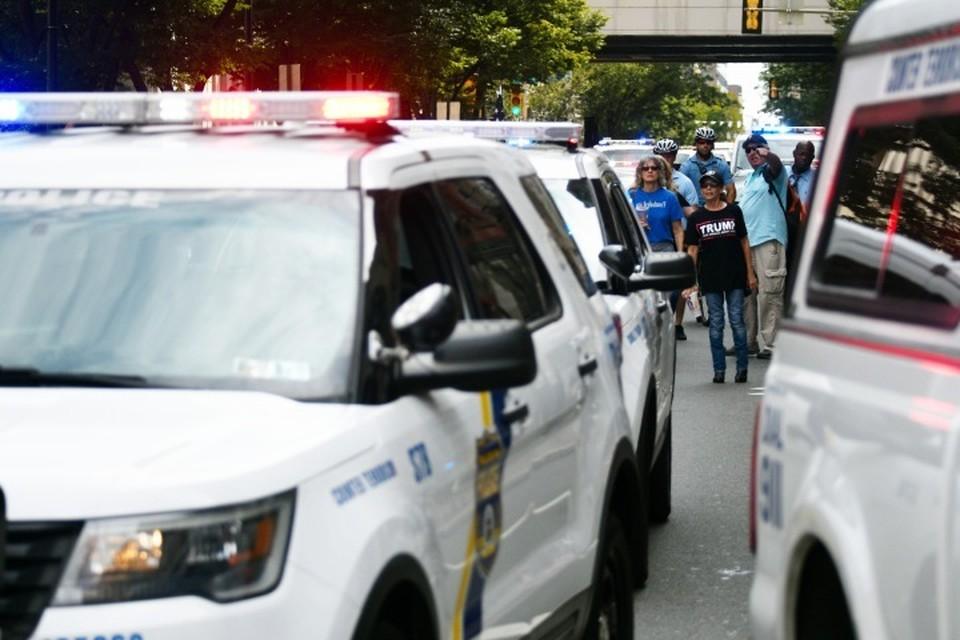 Стрельба произошла рядом с похоронным бюро