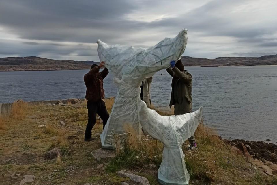 Арт-объект будет красоваться в поморском селе. Фото: vk.com/my_teriberka