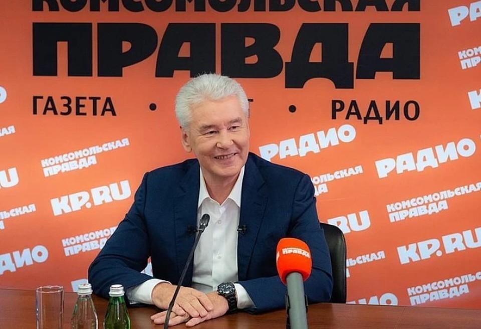 Собянин оценил эффект от перевода на удаленку в Москве. Фото: Денис Гришкин. Пресс-служба мэра Москвы