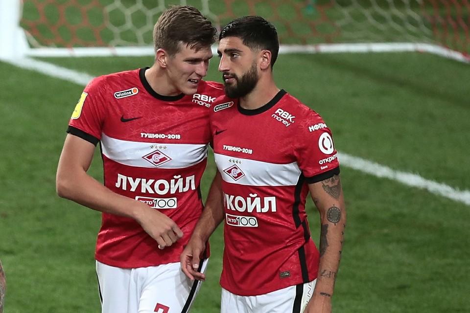 """Спартак"" принимает дома ""Зенит""."