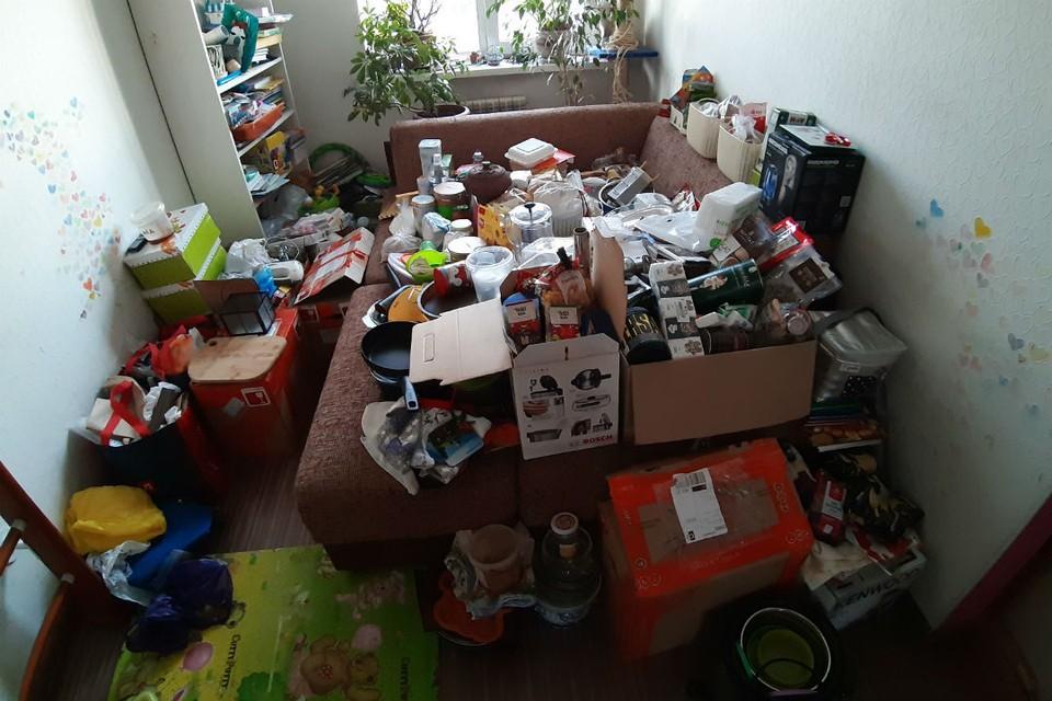 Как раз и навсегда избавиться от хлама, даже если в квартире все заполонили вещи. Фото: архив героини публикации.