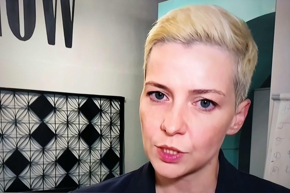 Член президиума Координационного совета белорусской оппозиции Мария Колесникова