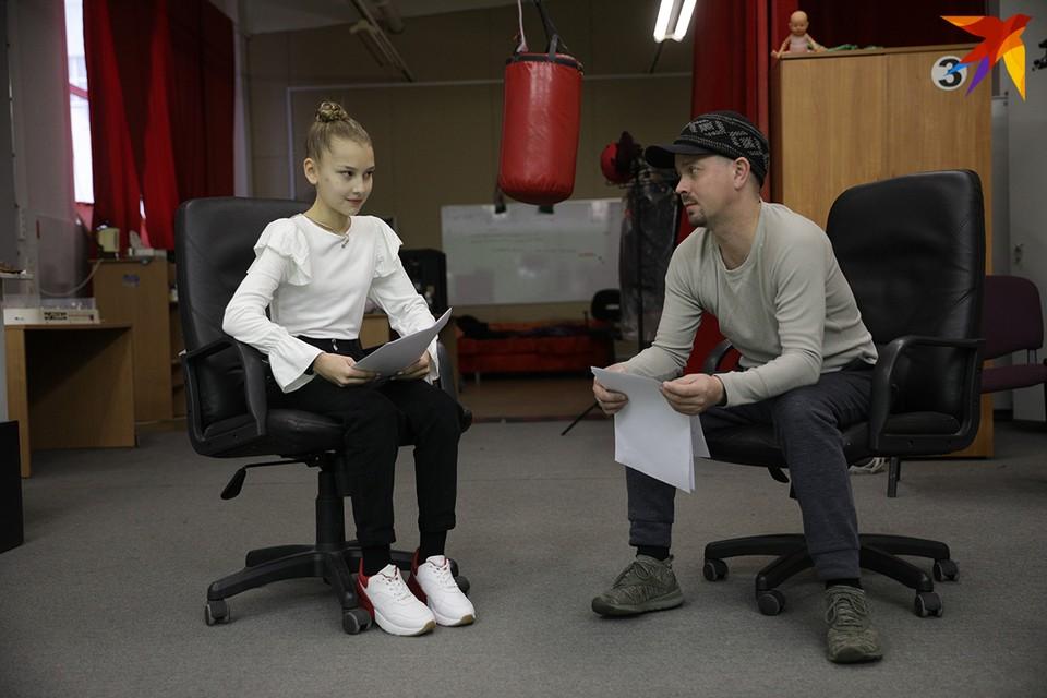 Минская школьница Маша Мулименко никогда раньше в киношном кастинге не участвовала.