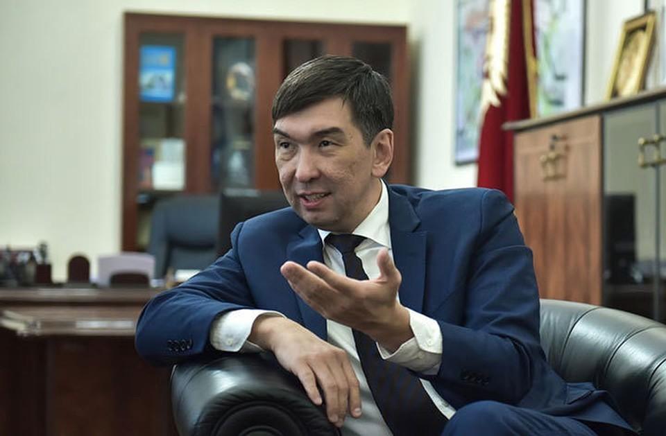 Азиз Суракматов вернулся к обязанностям мэра Бишкека.