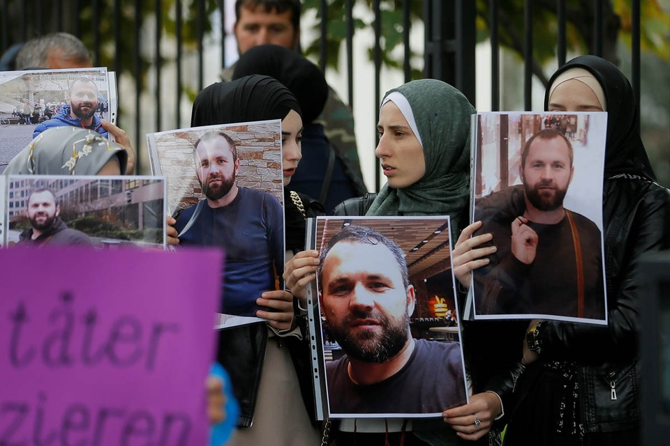 Гражданин Грузии Зелимхан Хангошвили участвовал в подготовке террористических актов в Беслане и Москве в 2004 году. Фото: EPA/ТАСС