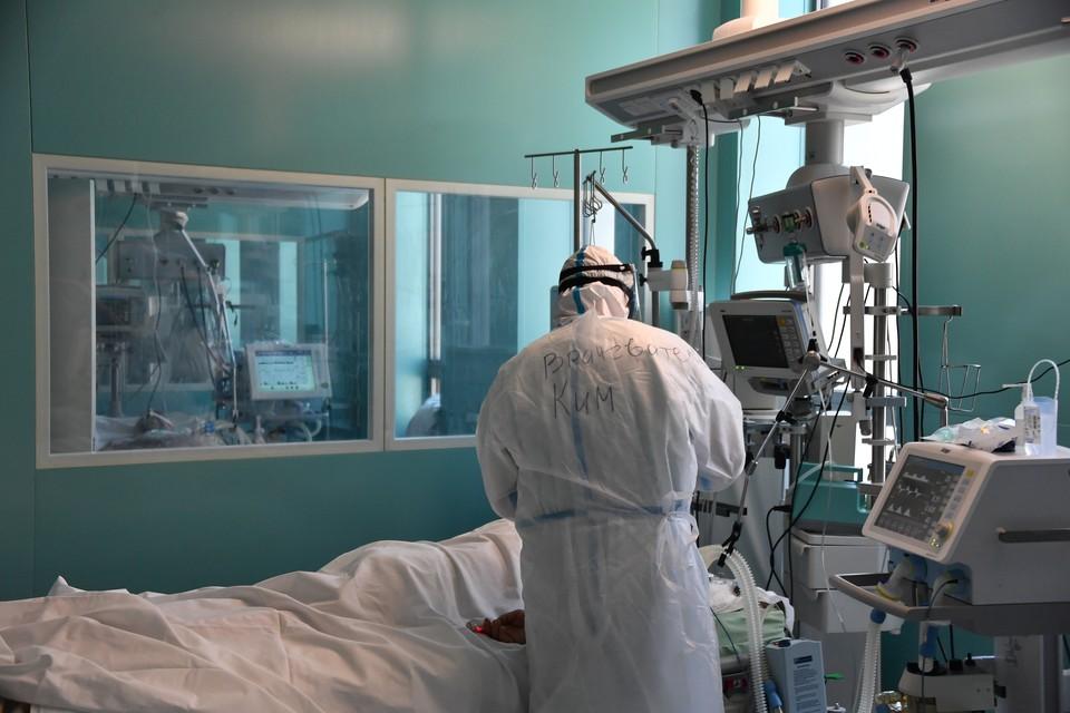 За сутки в Москве скончались 35 пациентов с коронавирусом