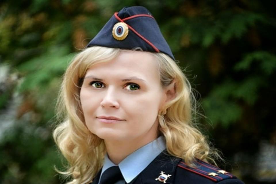 Наталии Кшукиной прошла путь от инспектора до руководителя отдела по работе с личным составом. ФОТО: предоставлено пресс-службой СЛ УМВД России на транспорте