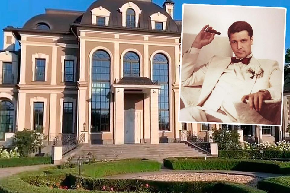 Дворец Алексея Гришина брали штурмом. Фото: Кадр оперативной съемки