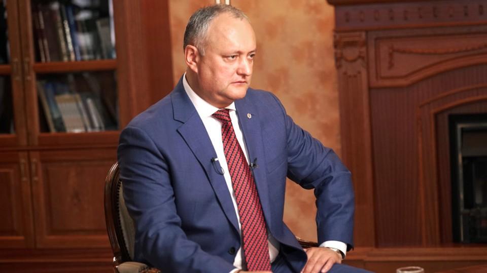 Игорю Додону не стоит перед первым туром идти на дебаты со своими политическими оппонентами (Фото: МИР24).