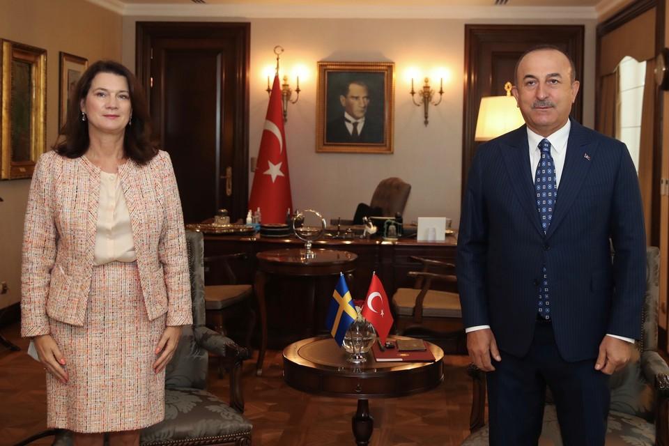 Пресс-конференция министров иностранных дел Турции и Швеции закончилась перепалкой