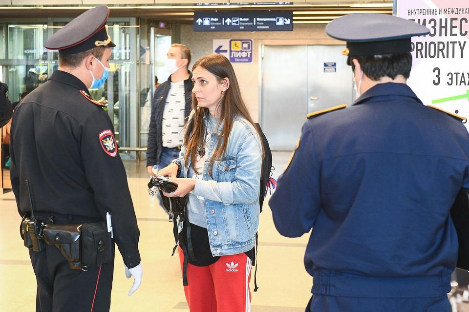 Более 70 нарушителей масочного режима выявили в аэропорту «Внуково». Фото: Департамент торговли и услуг Москвы