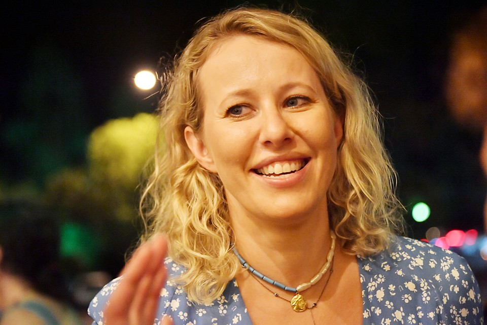 Ксения Собчак действительно 8 октября прилетала на вертолете в Костромскую область