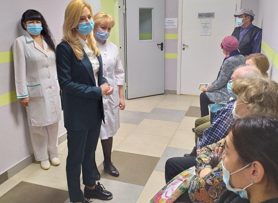 Ирина Солдатова обратилась к пациентам.