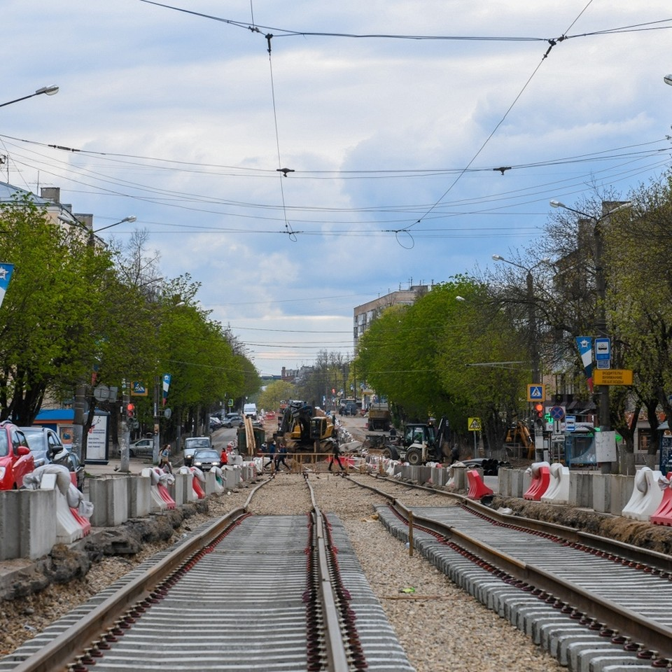 Часть улицы Николаева в Смоленске закроют для движения. Фото: из архива администрации Смоленска.