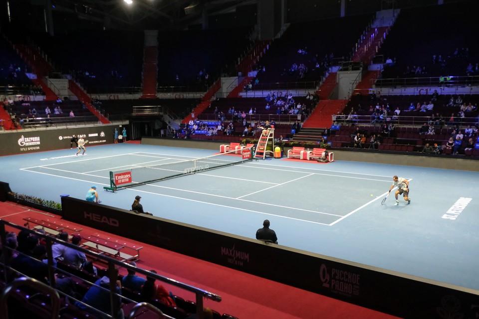 Американский теннисист так и не сыграл на петербургском турнире.