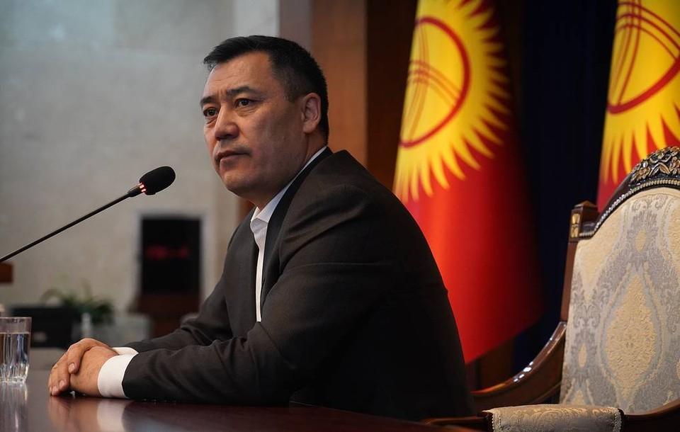 Премьер-министр Киргизии Садыр Жапаров. Фото: Абылай Саралаев/ТАСС