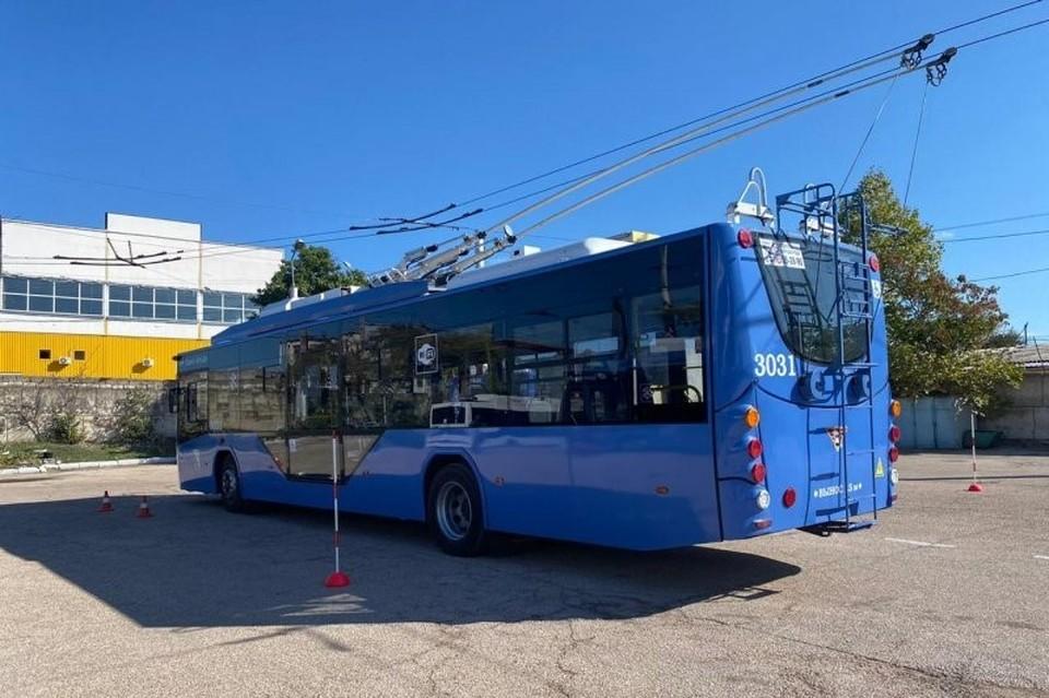 В Севастополе прошел конкурс на лучшего водителя троллейбуса. Фото: сайт Правительство Севастополя
