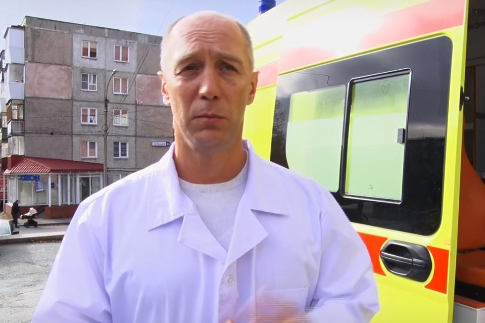 Сергей Приколотин проходит лечение в Челябинске. Фото: скриншот видео из сообщества «Городская Больница г. Златоуст» / Vk.com