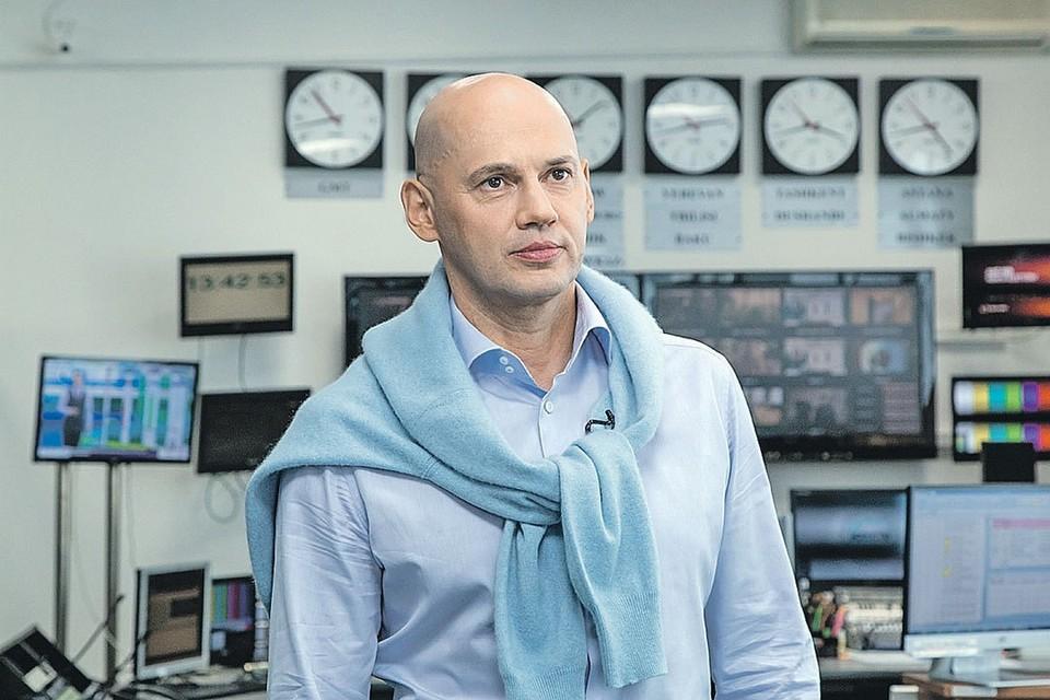 """Радик Батыршин рассказал """"Комсомолке"""" о том, как телекомпания изменилась в коронавирус."""