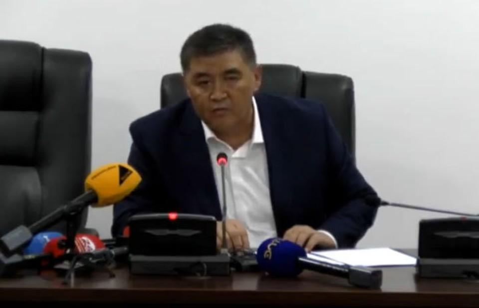 В должности главы спецслужб Камчыбек Ташиев начал работу со встречи с журналистами.