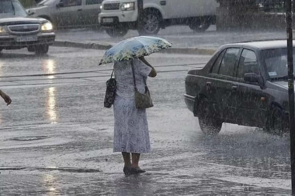 На выходных в Ростове ожидаются дожди