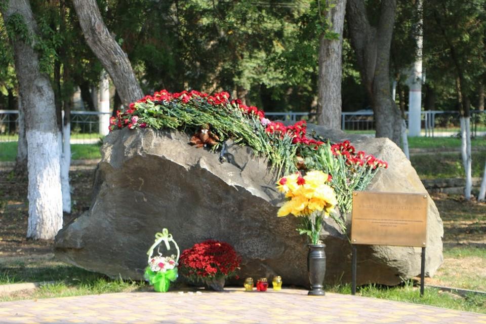 В Керчи почтили память жертв расстрела в политехническом колледже.Фото: Керченский городской совет