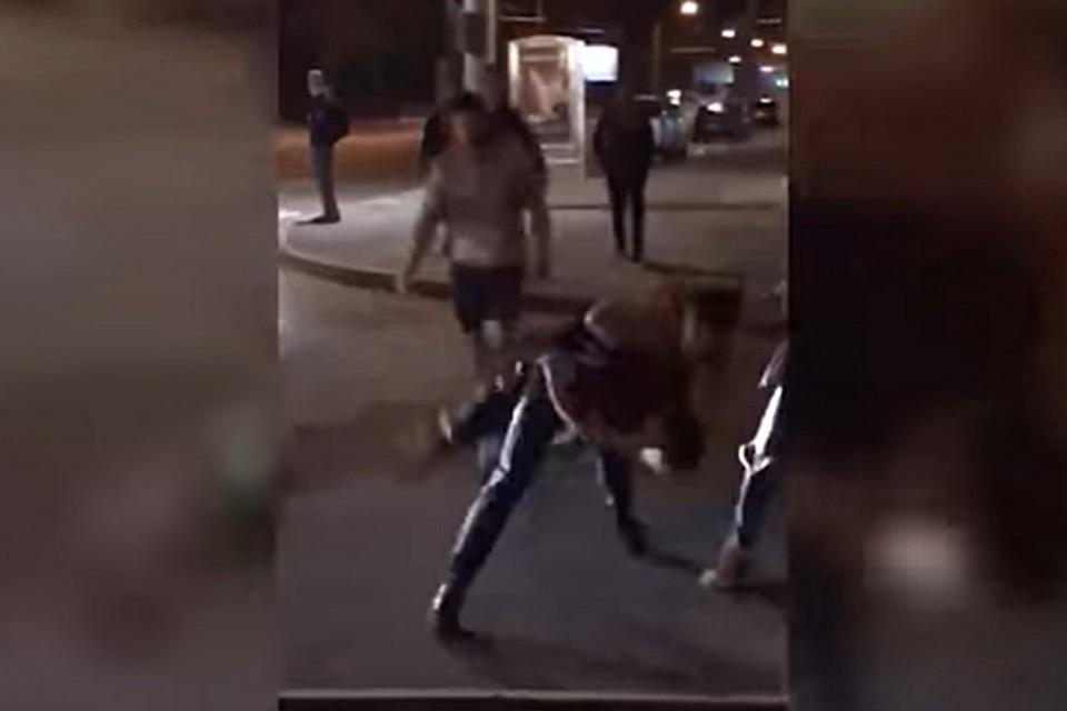 Кадр из видео о происшествии.