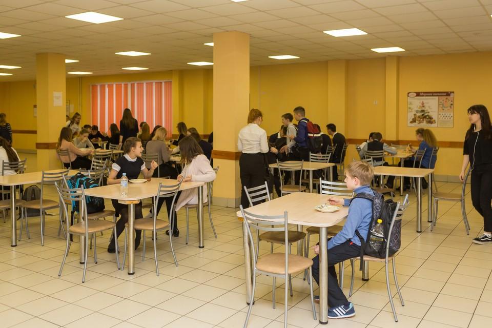 В Петербурге появится стандарт школьного питания.