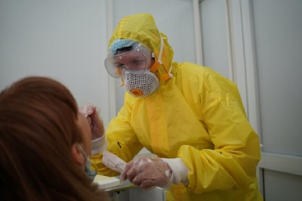 С начала пандемии в Крыму коронавирусом заразилось свыше 7 тысяч человек.