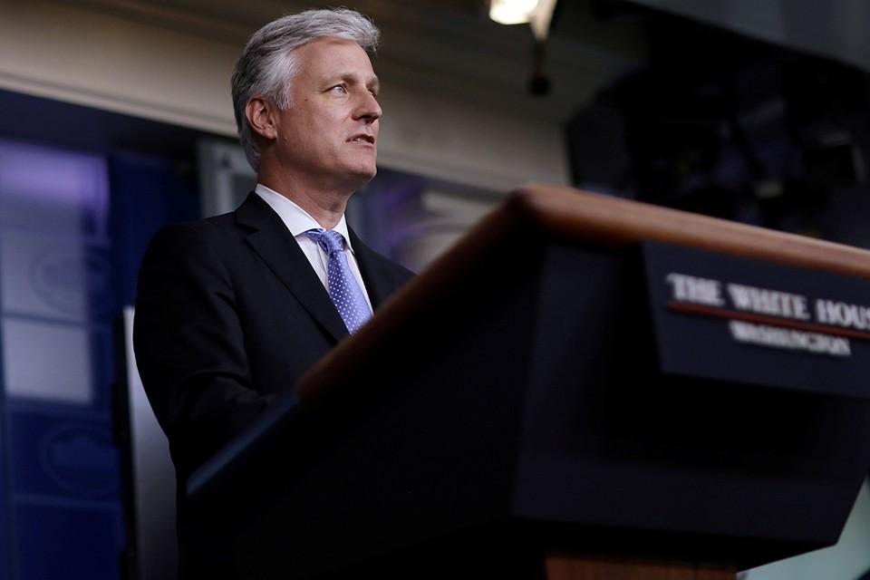 Ответом был категорический отказ. Его озвучил советник по национальной безопасности Белого дома Роберт О'Брайен
