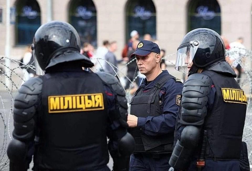 В Минске провели задержания участников несанкционированной акции протеста