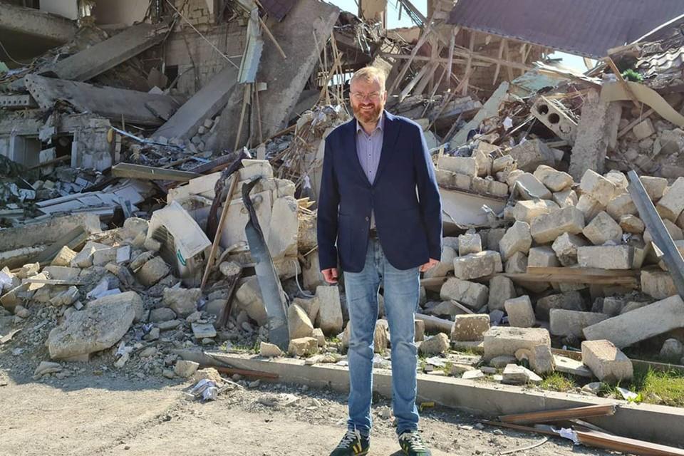 В МИД РФ направлена нота протеста от МИДа Азербайджана по поводу визита депутата Госдумы Виталия Милонова в Нагорный Карабах