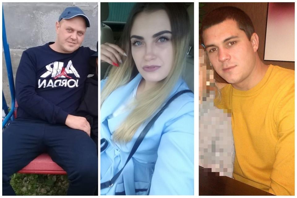 """У всех обвиняемых есть малолетние дети. Фото: личные страницы задержанных во """"ВКонтакте"""""""