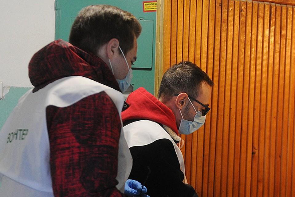 Помощь волонтеров с ухудшением ситуации с коронавирусом возобновилась.